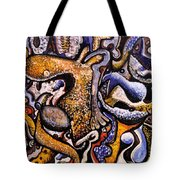 Left To Contemplate Tote Bag