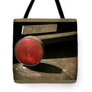 Left Turn Signal Tote Bag