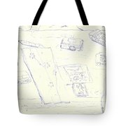 Lefty Coffee Table Tote Bag