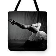 Leg Stretch Tote Bag