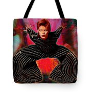 Legend Of Bowie  Tote Bag