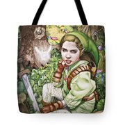 Legend Of Zelda Tote Bag