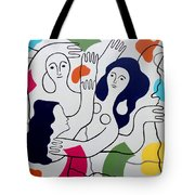 Leger Light And Loose Tote Bag by Tara Hutton