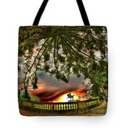 Legion Of Honor Horse Tote Bag