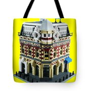 Lego Corner Shop And Apartments Tote Bag