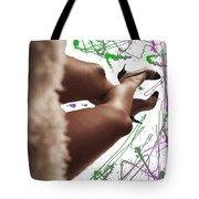 Legs And Art Tote Bag