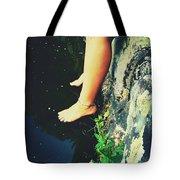 Legs Over Water Tote Bag