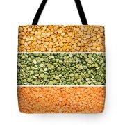 Legumes Triptych Tote Bag