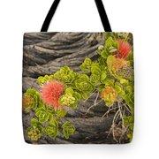 Lehua Flower Tote Bag