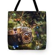 Leica Christmas Tote Bag