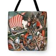 Leif Ericsson, The Viking Who Found America Tote Bag