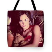 Leighton Meester Tote Bag