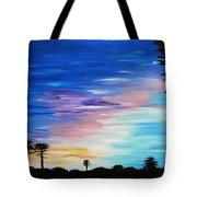 Lejeune Sunset Tote Bag