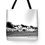 Lely Horses Tote Bag