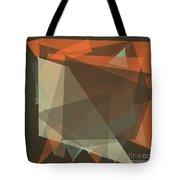 Lemans Polygon Pattern Tote Bag