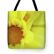 Lemon Chiffon Tote Bag