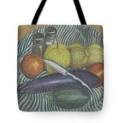 Lemon Cucumbers Tote Bag