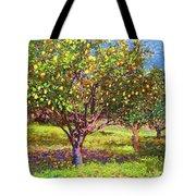 Lemon Grove Of Citrus Fruit Trees Tote Bag