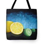 Lemon Lime Tote Bag