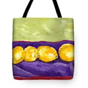 Lemon Party Tote Bag
