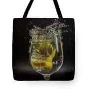 Lemon Spash Tote Bag