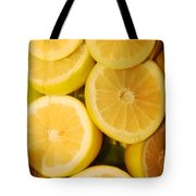 Lemon Still Life Tote Bag