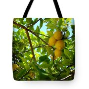 Lemon Tree Tote Bag