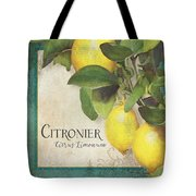 Lemon Tree - Citronier Citrus Limonum Tote Bag
