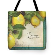 Lemon Tree - Limone Citrus Medica Tote Bag
