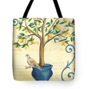 Lemon Tree Of Life Tote Bag