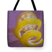 Lemon Twist I Tote Bag
