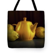 Lemon Yellow Tote Bag