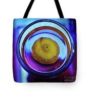 Lemonade In Blue Tote Bag