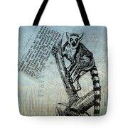Lemur Catta Tote Bag
