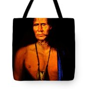 Lenape Chief Tote Bag