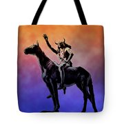 Lenape Indian Chief Tote Bag