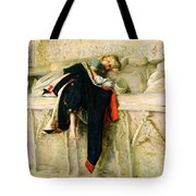 L'enfant Du Regiment Tote Bag by Sir John Everett Millais