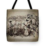 L'enfant Et Le Lion  Tote Bag