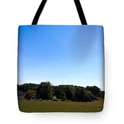 Length Wise Scene Of Countryside In Frederick Maryland Tote Bag
