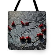 Lennon Memorial Tote Bag by Chris Lord