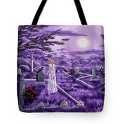 Lenore In Lavender Moonlight Tote Bag