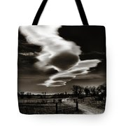 Lenticular Clouds Of Colorado Tote Bag