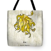 Leo Artwork Tote Bag
