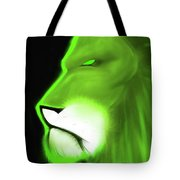Leo Profile- Lime Tote Bag