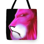 Leo Profile- Radiant Hot Pink Tote Bag