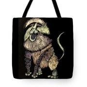 Leo, Rampant -- Negative Sepia Tote Bag