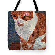 Leo The Cat Tote Bag