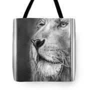 Leo The King Tote Bag