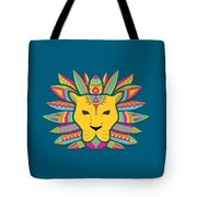 Leo Zodiac Sign Pattern Tote Bag