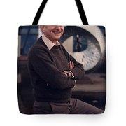 Leon Lederman, American Physicist Tote Bag